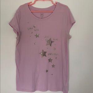 Purple t-shirt from gap